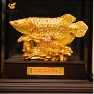 tượng cá rồng phong thủy