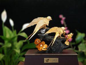 tượng đôi chim én